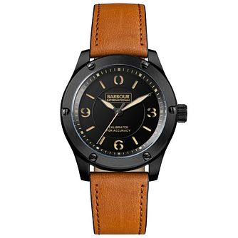 Barbour Men's Ion Plated Strap Watch - Product number 6291082