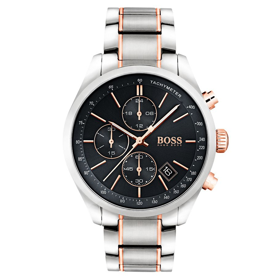 BOSS Men's Two Colour Bracelet Watch - Product number 6297226