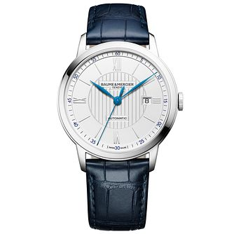 Baume & Mercier Myclassima Men's Stainless Steel Strap Watch - Product number 6319092