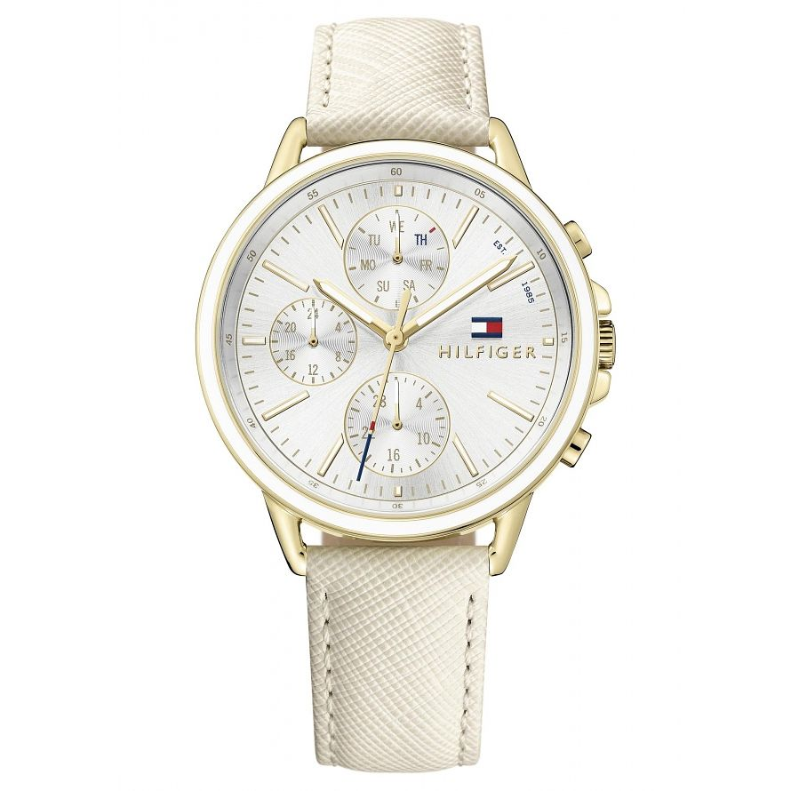Tommy Hilfiger Ladies' Nude Leather Strap Watch - Product number 6319831