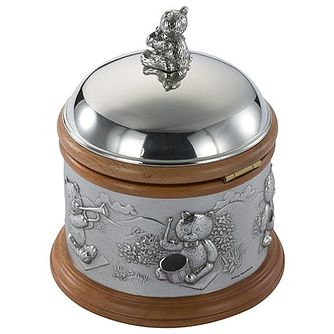Royal Selangor Teddy Pewter Wooden Music Box - Product number 6338860