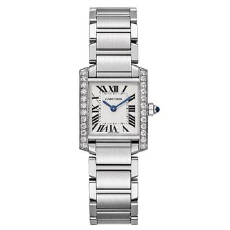 Cartier Tank Francaise Ladies' Steel Bracelet Watch - Product number 6341918