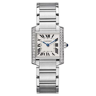 Cartier Tank Francaise Ladies' Steel Bracelet Watch - Product number 6341934