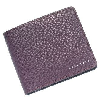 Hugo Boss Signature Men's Berry Leather Wallet - Product number 6344658