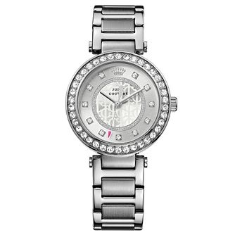 Juicy Couture Silver Stainless Steel Bracelet Watch - Product number 6347487
