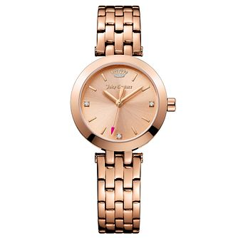 Juicy Couture Rose Gold Plated Staineless Steel Watch - Product number 6347746