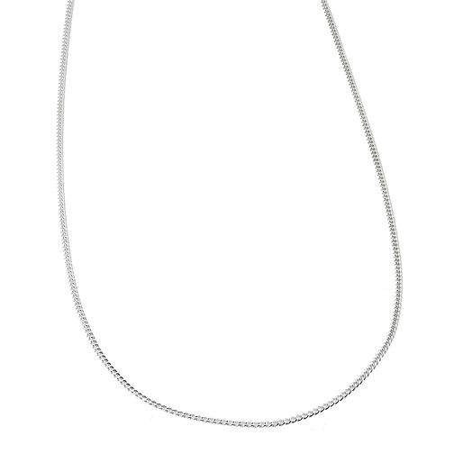"Sterling Silver 20"" Fine Curb Chain - Product number 6353444"