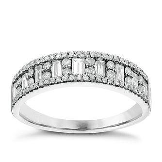 18ct White Gold 0.50ct Diamond Eternity Ring - Product number 6368182