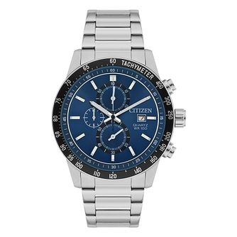 Citizen Men's Chronograph Stainless Steel Bracelet Watch - Product number 6376819