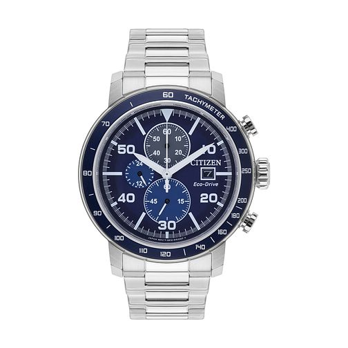 Citizen Men's Eco-Drive Stainless Steel Bracelet Watch - Product number 6376827