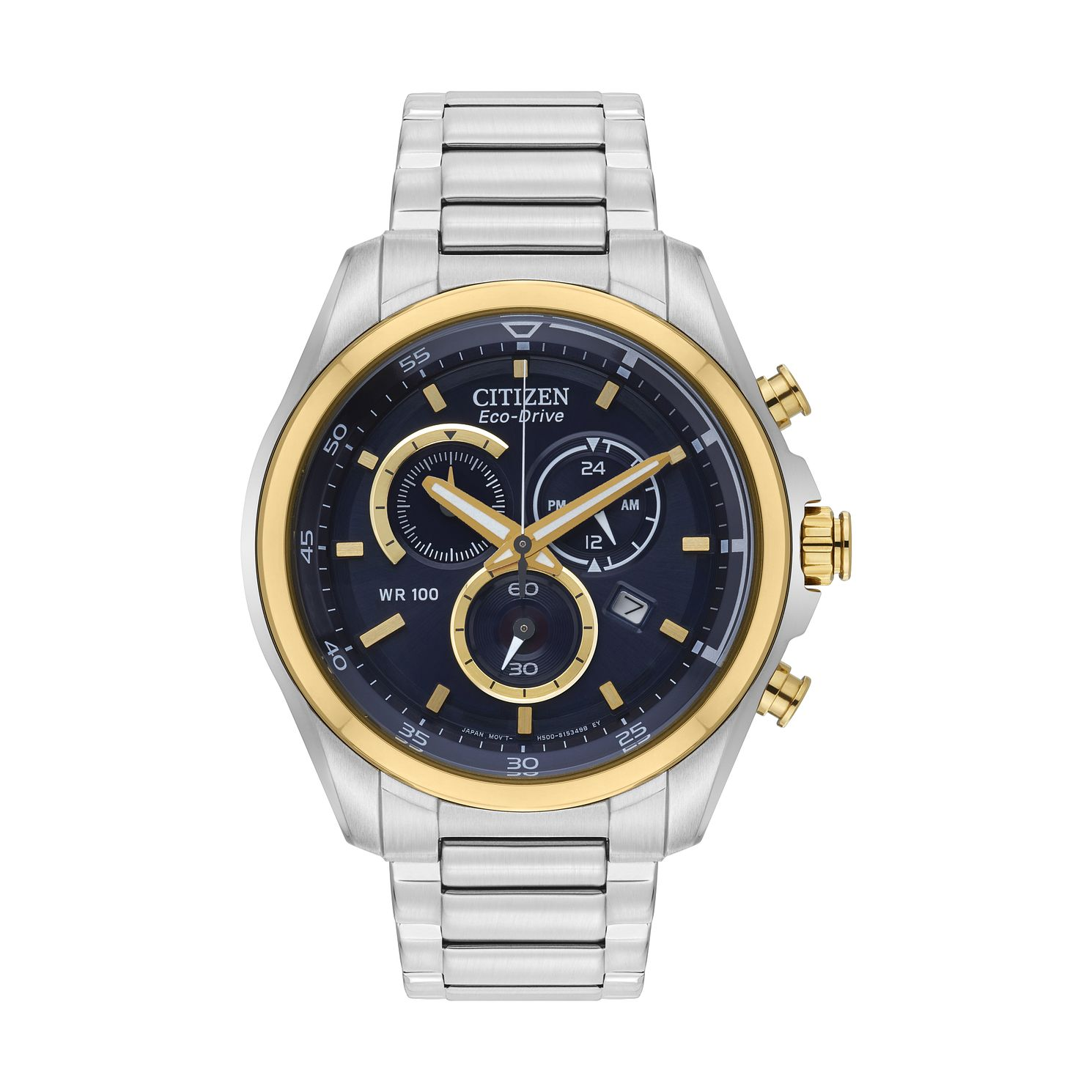 Citizen Men's Eco-Drive Stainless Steel Bracelet Watch - Product number  6376843