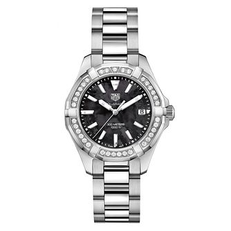 TAG Heuer Aquaracer Diamond Stainless Steel Bracelet Watch - Product number 6378951