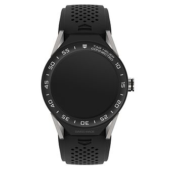 TAG Heuer Connected Modular 45 Black Strap Smart Watch - Product number 6380557