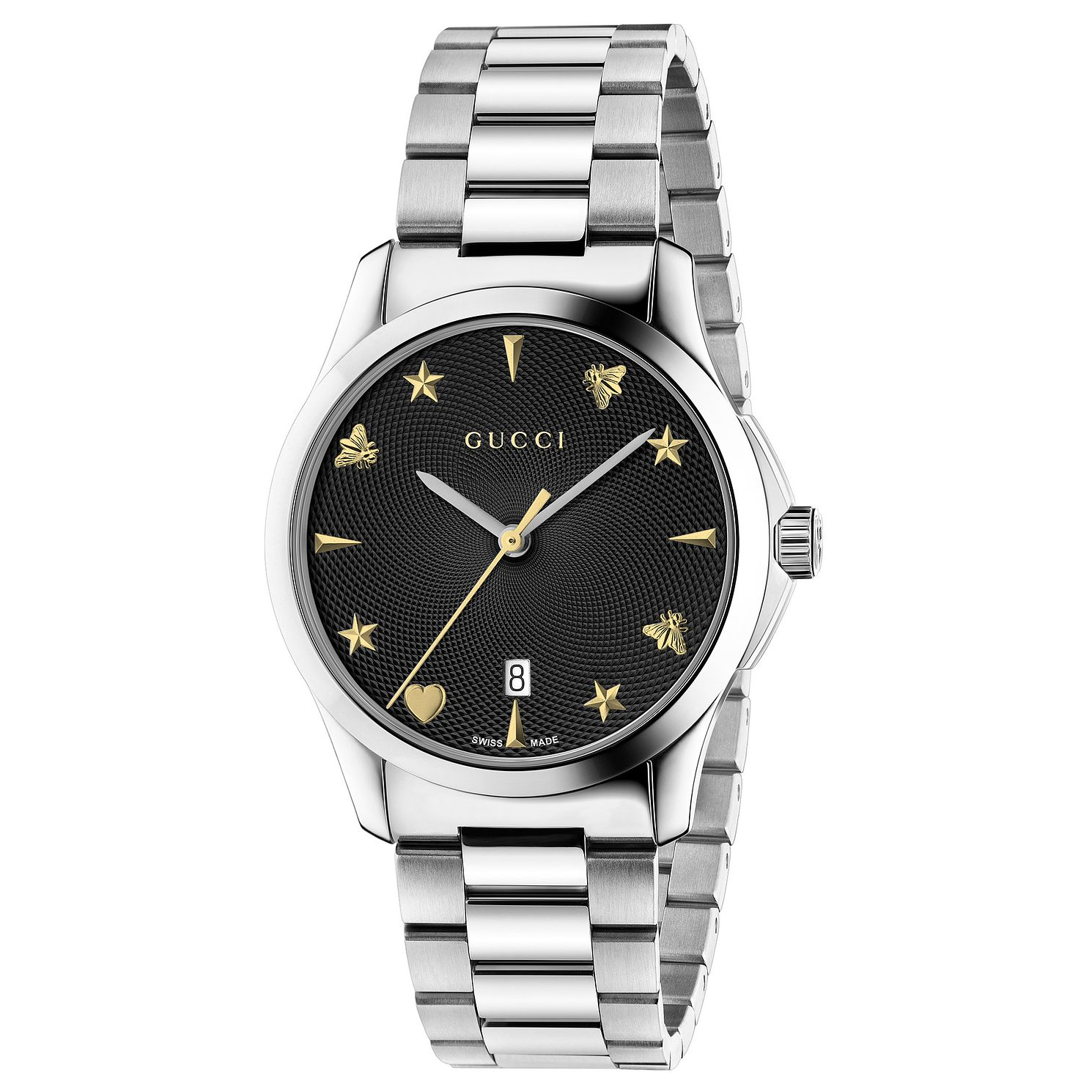 Gucci G-Timeless Stainless Steel Bracelet Watch - Product number 6382517
