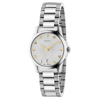 Gucci G-Timeless Ladies' Stainless Steel Bracelet Watch - Product number 6382525