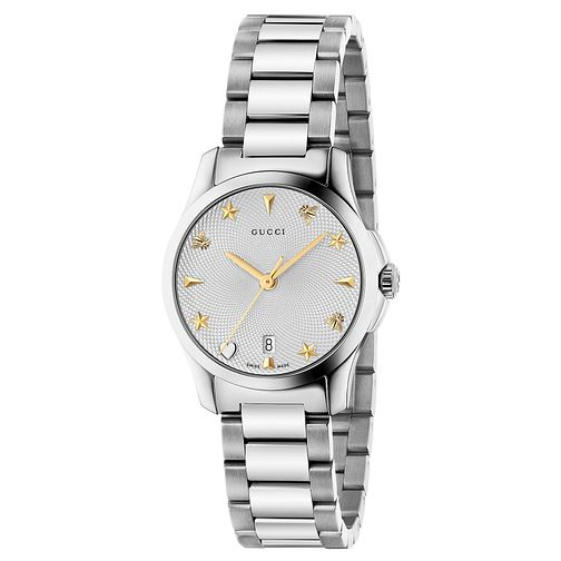 Gucci G-Timeless Stainless Steel Bracelet Watch - Product number 6382525