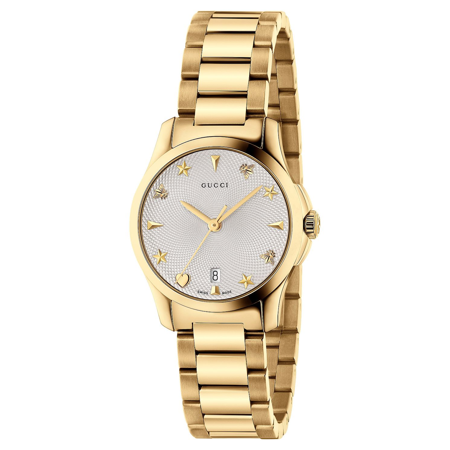 Gucci G-Timeless Gold Tone Bracelet Watch - Product number 6382533