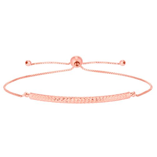 9ct Rose Gold Patterned Bangle - Product number 6383327