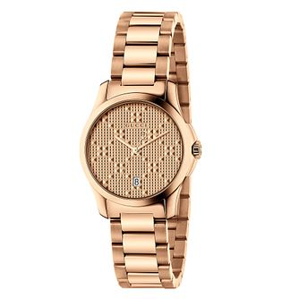 933fbe062 Gucci Ladies' Rose Gold Plated Bracelet Watch - Product number 6383386