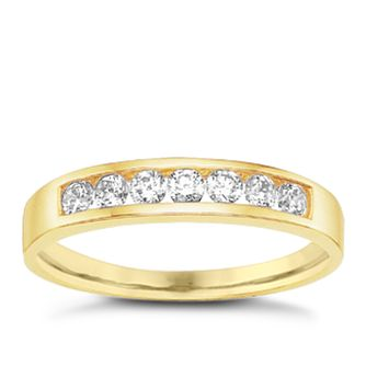 9ct Gold Cubic Zirconia Ring - Product number 6389678