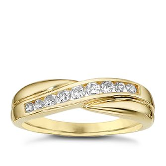 9ct Gold Cubic Zirconia Ring - Product number 6391338