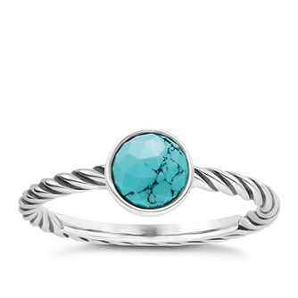 Thomas Sabo Turquoise Ethnic Ring Size O - Product number 6391508