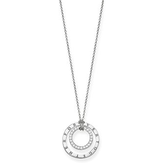 Thomas Sabo Forever Together Short Diamond Circle Necklace - Product number 6391559