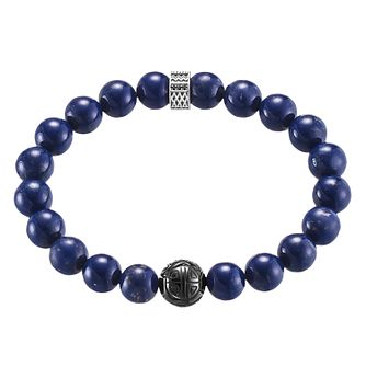 Thomas Sabo Rebel at heart Royal Blue Bead Bracelet - Product number 6391737