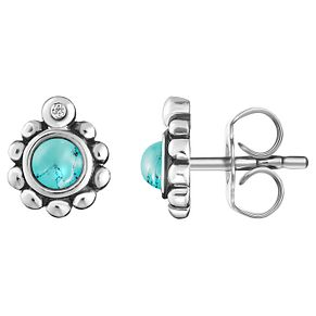 Thomas Sabo Glam & Soul Turquoise Diamond Stud Earrings - Product number 6395554