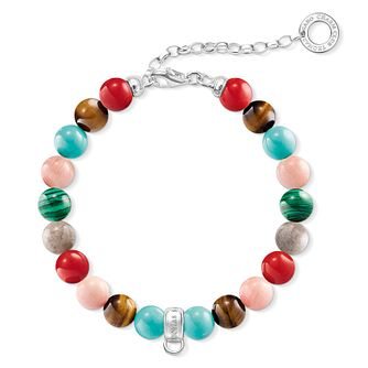 Thomas Sabo Charm Club Adjustable Bead Charm Bracelet - Product number 6395651