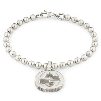 Gucci Silver Beaded Bracelet - Product number 6395716