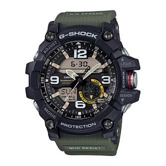 Casio G-Shock Men's Green Strap Watch - Product number 6407366