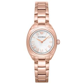 Emporio Armani Ladies' Rose Gold Tone Bracelet Watch - Product number 6409938