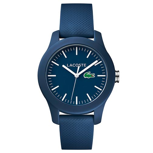Lacoste Ladies' Blue Silicone Strap Watch - Product number 6412297