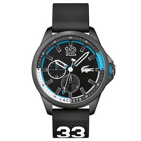 Lacoste Men's Black Silicon Strap Watch - Product number 6412521