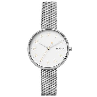 Skagen Ladies' Stainless Steel Bracelet Watch - Product number 6412629