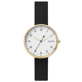 Skagen Ladies' Gold Tone Strap Watch - Product number 6412645