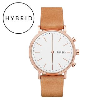 Skagen Connected Ladies' Rose Gold Tone Hybrid Smartwatch - Product number 6412750