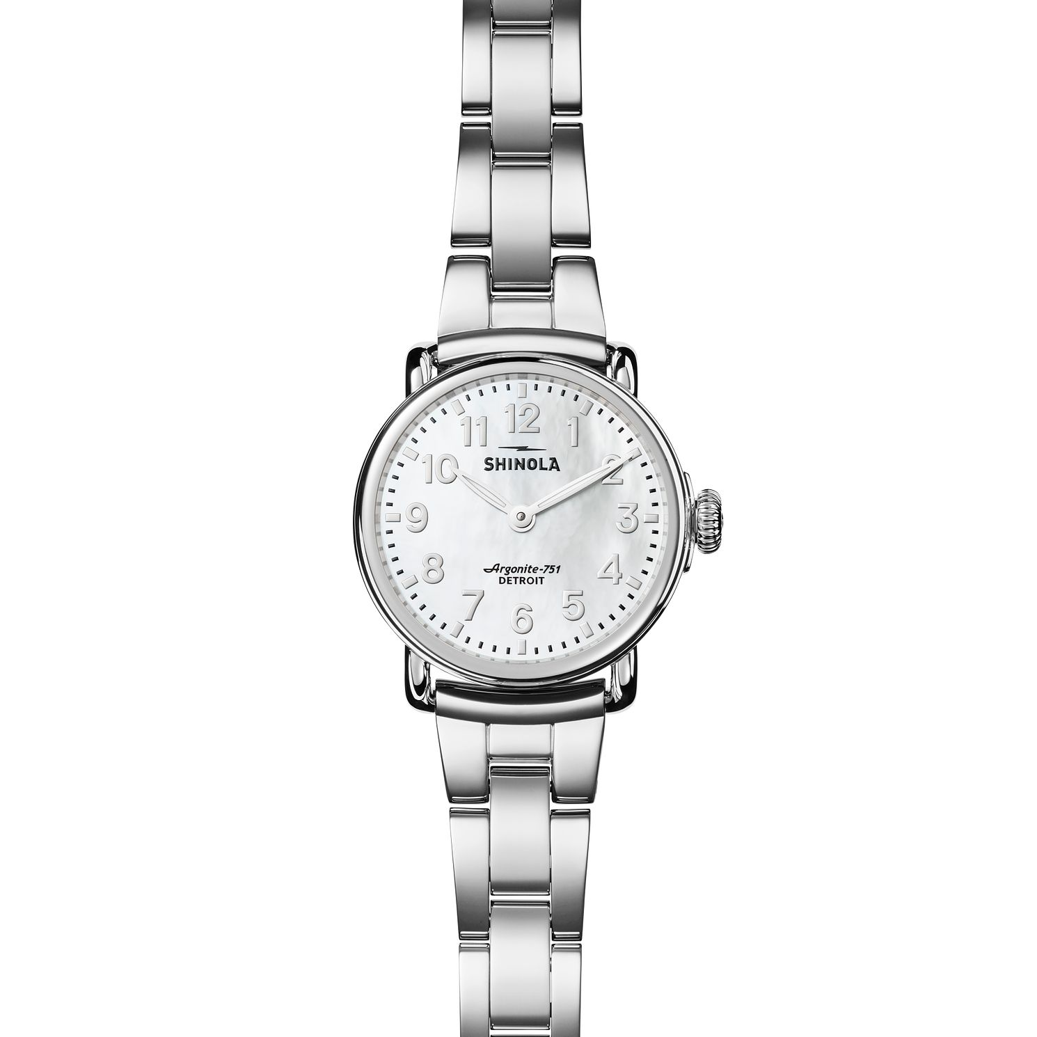 Shinola Runwell 28 Ladies' Stainless Steel Bracelet Watch - Product number 6413374