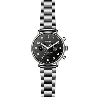 Shinola Canfield Men's Stainless Steel Bracelet Watch - Product number 6413412
