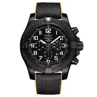 Breitling Avenger Hurricane Men's IP Case Black Strap Watch - Product number 6414206