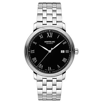 Montblanc Tradition Automatic Men's Stainless Steel Watch - Product number 6415695