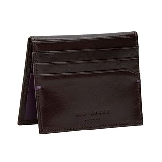 Ted Baker Men's Red Leather Cardholder - Product number 6415822