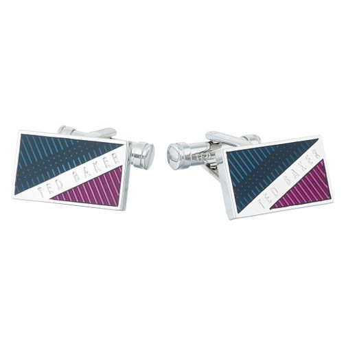 Ted Baker Trident Enamel Brass Cufflinks - Product number 6416004