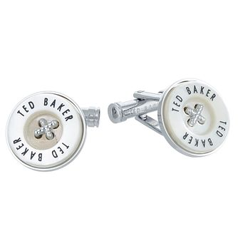 Ted Baker Men's Brass Button Cufflinks - Product number 6416012