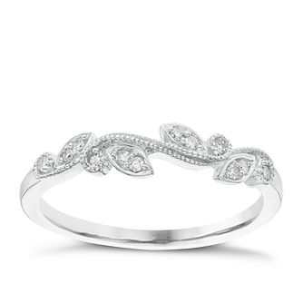 9ct White Gold Diamond Ring - Product number 6421938