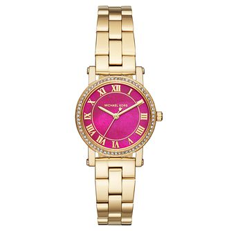 Michael Kors Ladies' Gold Tone Bracelet Watch - Product number 6426034