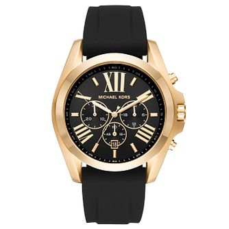 Michael Kors Bradshaw Men's Gold Tone Strap Watch - Product number 6426069