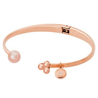 Michael Kors Rose Gold Tone Open Bangle - Product number 6426077
