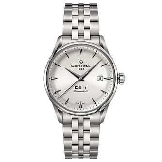 Certina DS-1 Powermatic Men's Stainless Steel Bracelet Watch - Product number 6426492